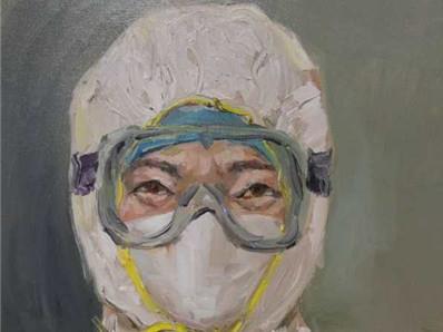 暖心惊喜!鹰潭确诊患者出院后绘制油画感谢医护人员