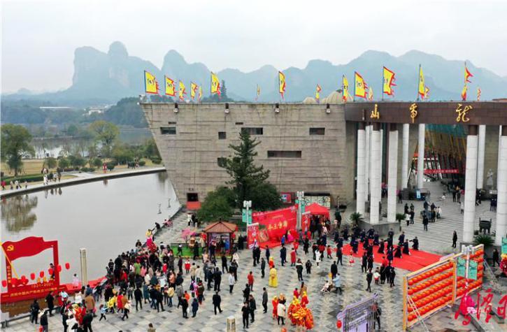 """这个春节,龙虎山景区年味十足""""好戏连台""""!"""