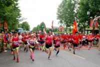 鹰潭全民健身长跑比赛半程21公里在龙虎山举行
